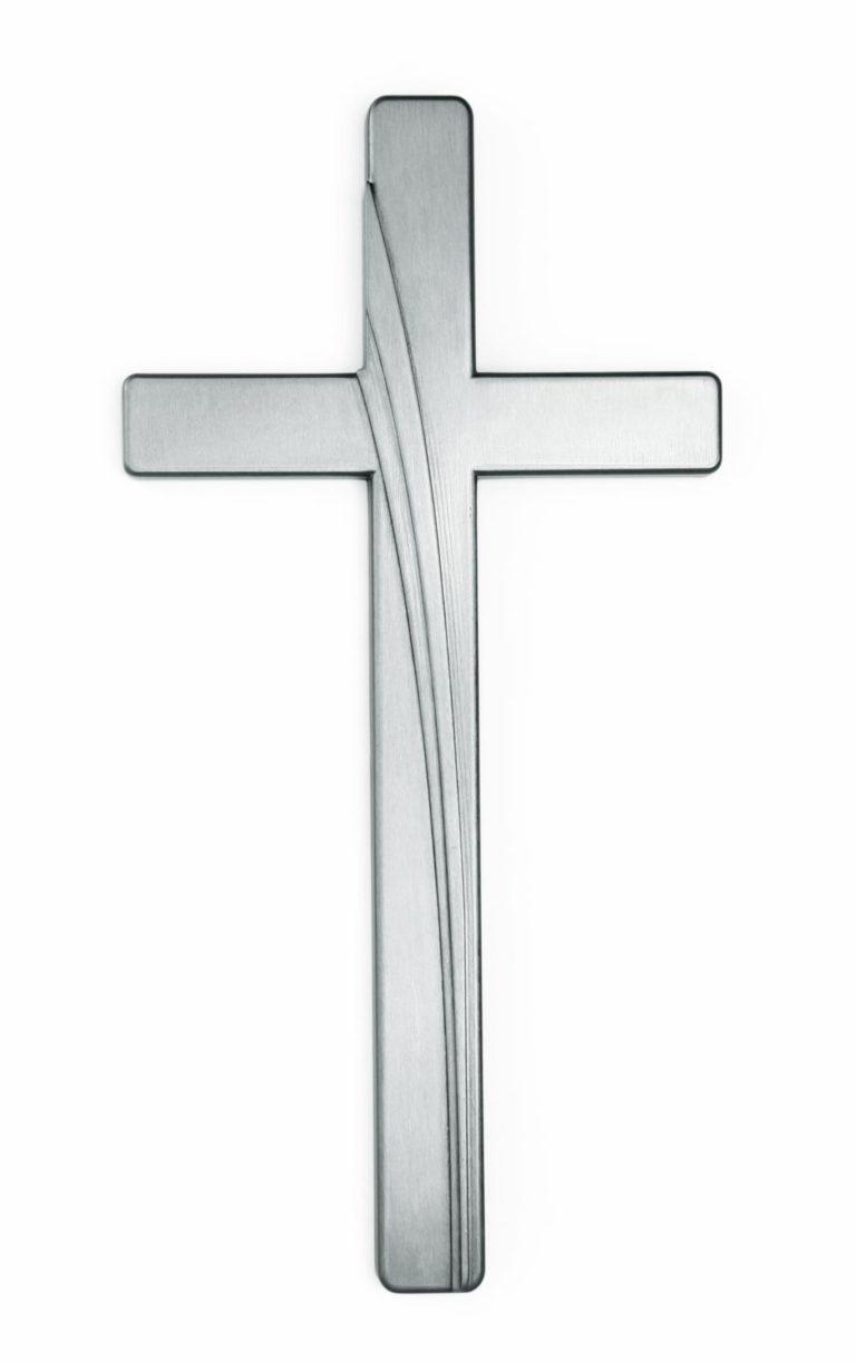 K51-4-27P Kríž Kamelia strieborný