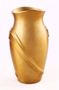 V51-5-25P Váza Kamelia bronz