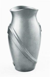 V51-4-25P Váza Kamelia strieborná