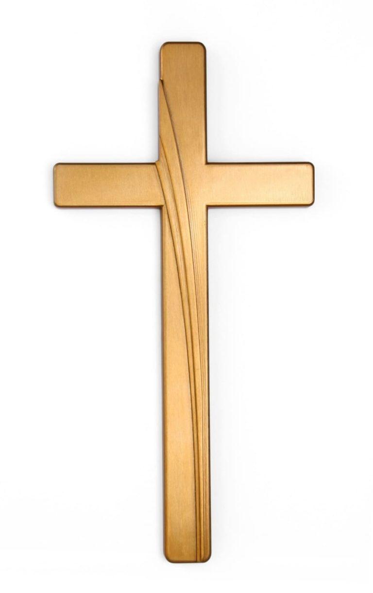 K51-5-27P Kríž Kamelia bronz