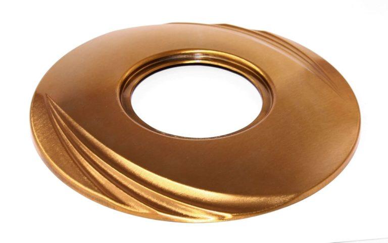 V52-5-2Z Váza zapustená Serena - bronz