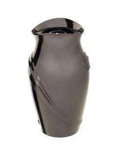 V51-3-25P Váza Kamelia čierne zlato