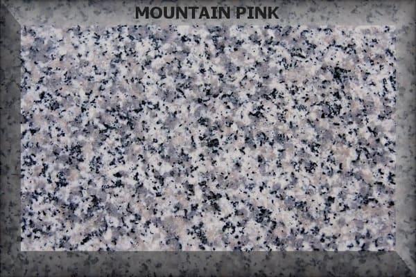 Materiál - Žula Mountain Pink