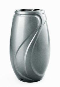 V50-4-27P Veľká váza Verbena - strieborná