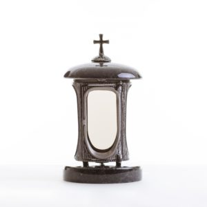 Kamenný žulový lampáš 1