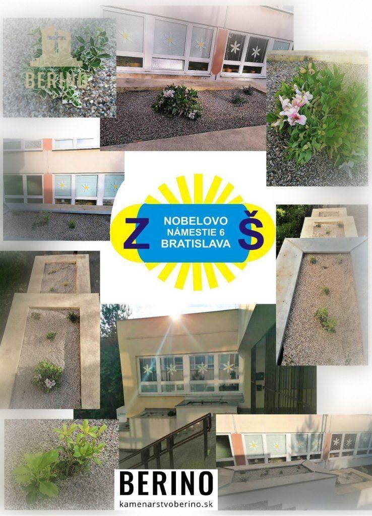 Pomáhame skrášľovať okolie škôl - ZŠ Nobelovo námestie